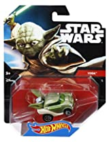 Hot Wheels Star Wars Yoda Character Car, Multi Color