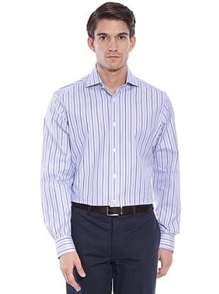 Hackett Camicia Righe (Blu/Bianco/Rosso)