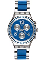 Swatch Irony Analog Blue Dial Men's Watch - YCS553G