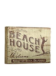 Artehouse Beach House Reclaimed Wood Sign