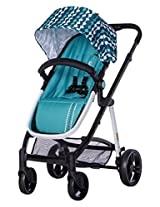 Dream On Me Mia Moda Marisa Three-in-One Stroller, Aqua