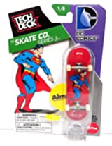 Tech Deck Dc Comics Td Skate Co Series 3 Almost Superman Fingerboard 1/8