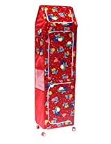 Amardeep and Co XXL Multipurpose Toy Box (Red) - ALE-01-Red-T.T-7T