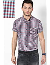 Checks Red Casual Shirt