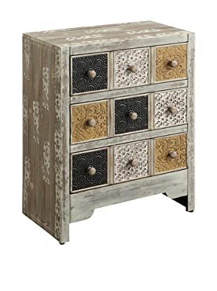 Coast to Coast Jacobs Three Drawer Cabinet
