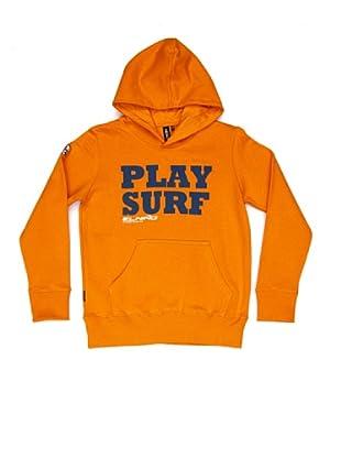 El Niño Sudadera Play Surf (naranja)