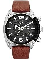 Diesel Brown Leather Men Watch DZ4296