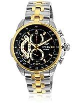 Edifice Ef-558Sg-1Avdf Two Tone/Black Chronograph Watch Casio