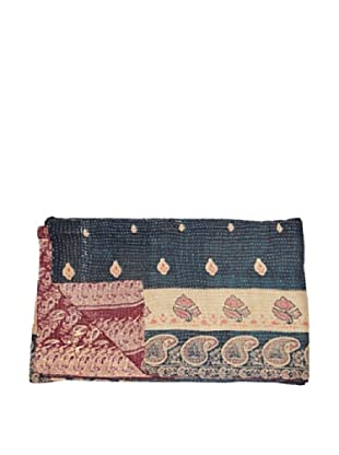 Large Vintage Chanda Kantha Throw, Multi, 60