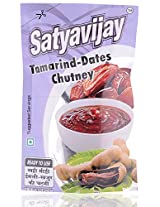 Satyavijay Ready to Use Tamarind Dates Chutney - 100 gram