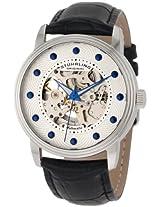 Stuhrling Original Analog Silver Dial Men's Watch - 107D.33152