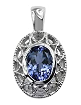 Carillon India sterling-silver Pendant For Women (Silver)