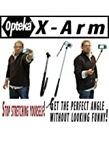 Opteka X-ARM Camera Extender Self Portrait Handheld Monopod extends up to 37 Inch
