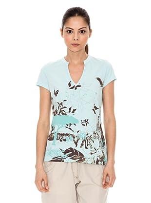 Iguana T-Shirt ODINZ (Hellblau)