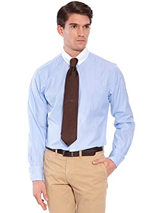 Hackett Camicia Righe (Bianco/Blu)