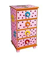 Kevitsa Kids Storage Furniture in Multi-Colour Finish with Mudramark