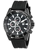 Invicta Men's 10925 Specialty Black Dial Black Polyurethane Watch