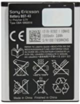 Sony Ericsson BST-43 / BST43 Battery for Sony Ericsson Phone - Original OEM - Non-Retail Packaging - Black