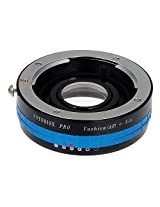 Fotodiox Pro Lens Mount Adapter w/ Aperture Iris, Yashica 230 AF Lens to Nikon F-Mount Camera such as D7200, D5000 & D3000