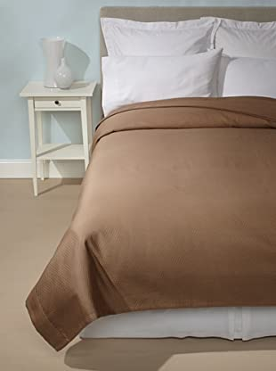 Peacock Alley Adriana Coverlet (Walnut)