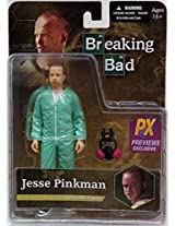 BREAKING BAD JESSE PINKMAN PX EXCLUSIVE BLUE HAZMAT 6-IN ACTION FIGURE