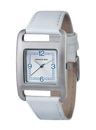 ARMAND BASI A1006L01 - Reloj de Señora movimiento de cuarzo con correa de piel Blanca