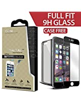 Icarez Privacy Tempered Glass Highest Quality Screen Protector For Iphone 6 Plus - Black