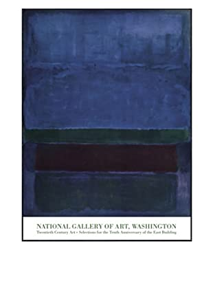 Rothko - Blue Green and Brown, 1952