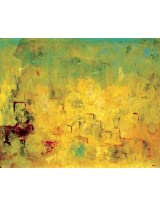 Faim Paintings Abstract Art Maslows Canvas Print 27x22 Frameless