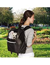 East Side Collection ZA5257 75 On The Go Rolling Backpack or Pets, Pink