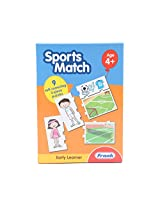Frank Sport Match 27 Pcs Educational Puzzle Set - Multi Colour