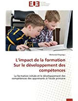 L Impact de La Formation Sur Le Developpement Des Competences