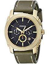 Fossil End of Season Chronograph Black Dial Men's Watch - FS5064