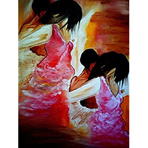 NUCreations Love - Original Painting - Oil Paint On Canvas