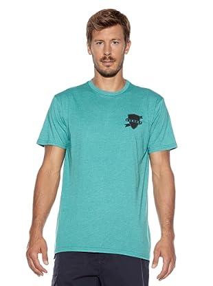 Burton Camiseta Bars Slim Fit (Verde)