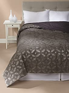 Frette Luxury Edmond Anouk Quilt (Anthracite Grey)