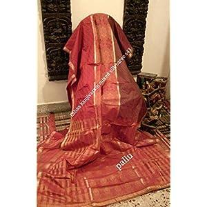 40% off Eshaa Kanjivaram silk saree with blouse