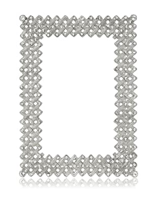 Olivia Riegel Lattice Frame with Swarovski® Crystals (Silver)