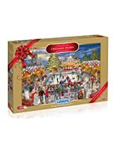 Gibsons Limited Edition Christmas Market Jigsaw Puzzle (1000-Piece)