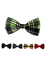 DBFF0015 Multicolored Satin Popular Boys Pre-Tied Bow Ties Set - 5 Styles Available By Dan Smith