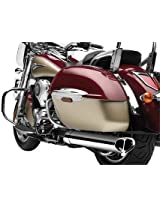 Cobra Tri-Oval Slip-Ons for 2009-2011 Kawasaki VN1700 Nomad/Voyager/Vaquero Motorcycles - Color : Chrome - Size : Kawasaki VN1700 Vulcan 1700 Vaquero 2011