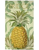 Royal Pineapple Bridge Game Score Pad