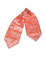 ERA7B04E Coral Patterned Series Shopstyle Silk Ascot Tie Cravat Factory For Dad World Wide Ascot Tie Cravat By Epoint
