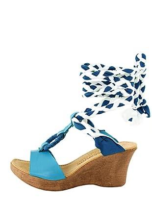 Dolceamore Sandalias Jade (Azul / Blanco)
