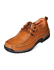 Red Chief Men's Elephant Tan Leather Casual Shoes - B00MANNI0E