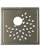 Aquieen Stainless Steel Floor Grating (Silver, sunflowerpc)