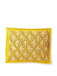 "Mar Y Sol Praia 14"" x 18"" Rectangle Pillow (Canary)"