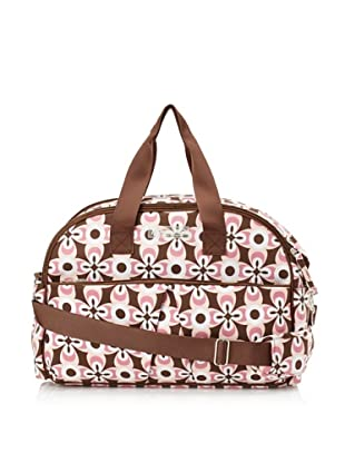 The Bumble Collection Erica Carryall Tote (Graphic Geo Flower)