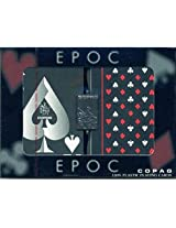 2 Deck Set Of Copag Plastic Playing Cards Special Epoc Design
