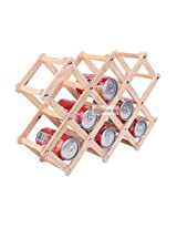 Wood Wine Holder Drink Holders Storage Rack Bucket